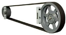 EZ Align tool on pulleys