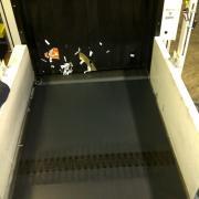 ERO Joint conveyor belt airport