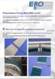 Zahnriemen mit mechanischem Befestigungssystem ERO Joint®