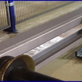 Flachriemen mit ERO Joint HP Spleiss