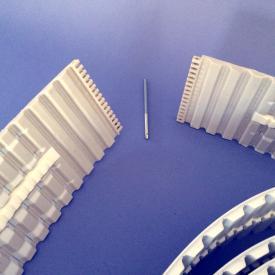 Zahnriemen AT20 ERO Joint HP (hinge pin) mit Führung